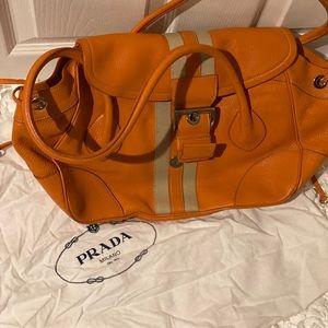 Authentic Prada large shoulder bag